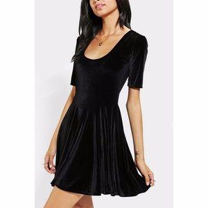 Urban Outfitter velvet scoop neck dress